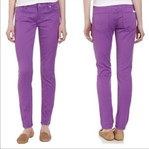 7 For All Mankind Gwenevere  Skinny Jeans Orchid